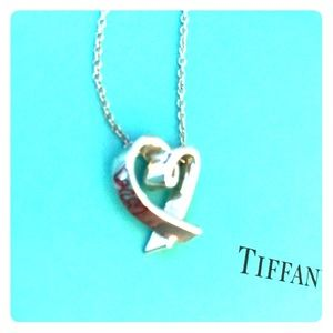 Tiffany & Co Paloma Picasso Love Heart Necklace